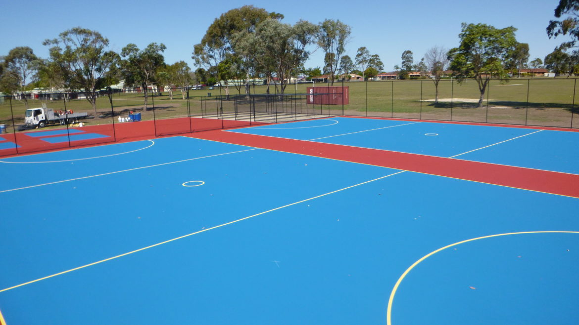 Deception Bay State High School Netball Courts