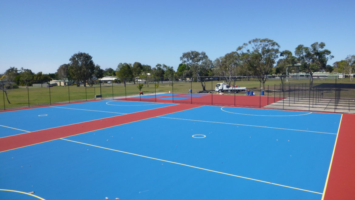Deception Bay State High School Netball and Cricket Pitches