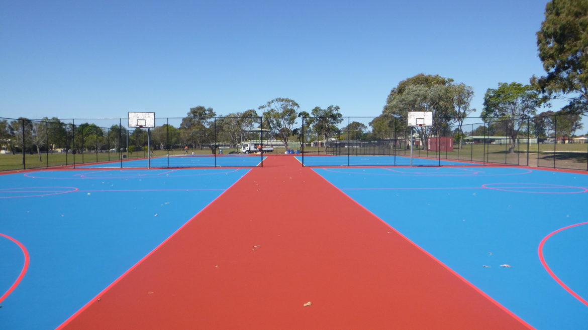 Deception Bay State High School Netball Courts and Cricket Pitches
