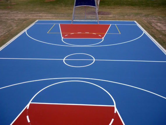 Basketball court builder private commercial premier for How wide is a basketball court
