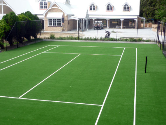 Private Synthetic Tennis Court